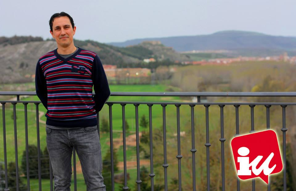 Foto del concejal Alberto de Aguilar de Campoo